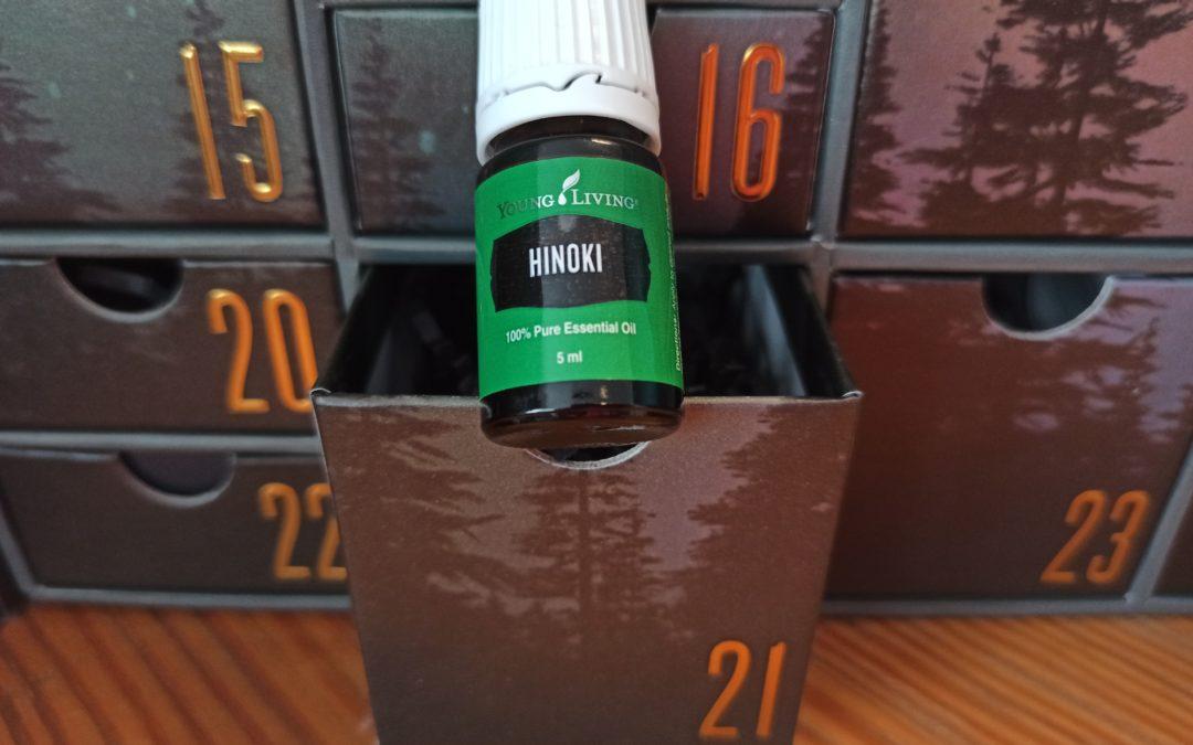 Hinoki für Zentrierung und Erdung